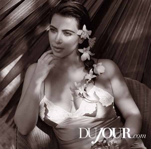 Kim Kardashian : son premier shooting photo depuis la grossesse