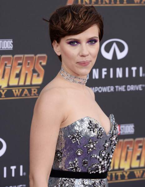 Première mondiale d'Avengers: Infinity War - Scarlett Johansson