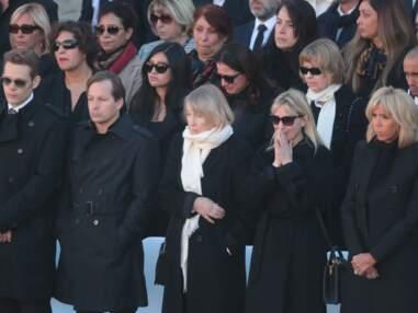 Hommage national à Charles Aznavour : Brigitte Macron très émue aux Invalides