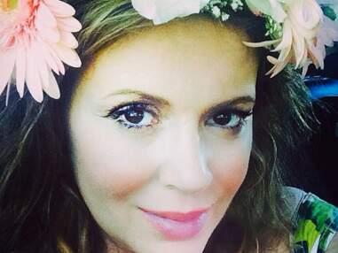 Alyssa Milano : baby shower entre amies en attendant bébé