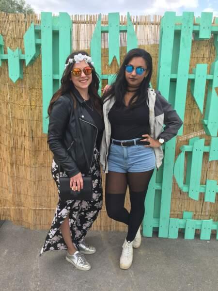 Marvellous Island Festival 2016: hyper cools, Clara et Jessica ont pris la pose en premier