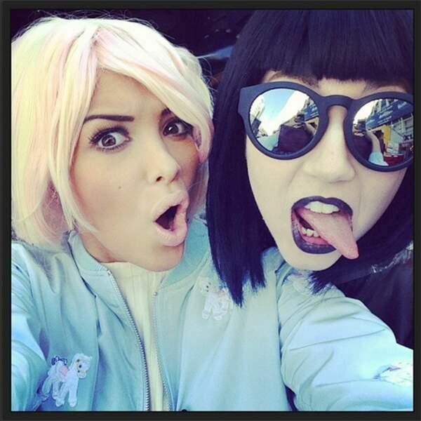 Parfois, les amies de Nabilla ressemblent à Lady Gaga