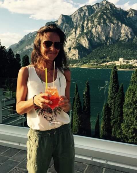 Emmanuelle Boidron : s'éclate en vacances avec ses enfants et son mari