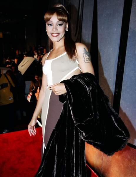 ... Lisa Lopes, surnommée Left Eye, est décédée en 2002 dans un accident de la route