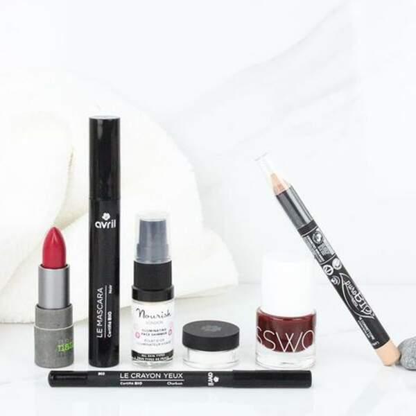 La trousse beauté bio spéciale maquillage, NUOO, 38,90€