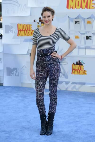 Shailene Woodley avait un choix vestimentaire... hasardeux