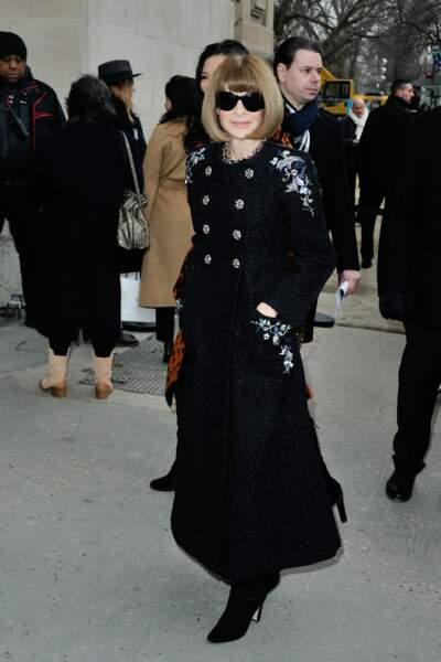 Défilé Chanel Haute Couture : Anna Wintour