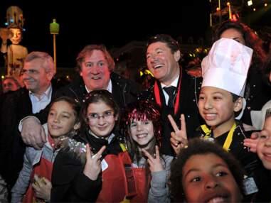Gérard Depardieu Déchaîné au Carnaval de Nice