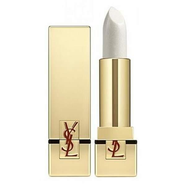Rouge à lèvres blanc pur couture, Yves Saint Laurent, 35 euros