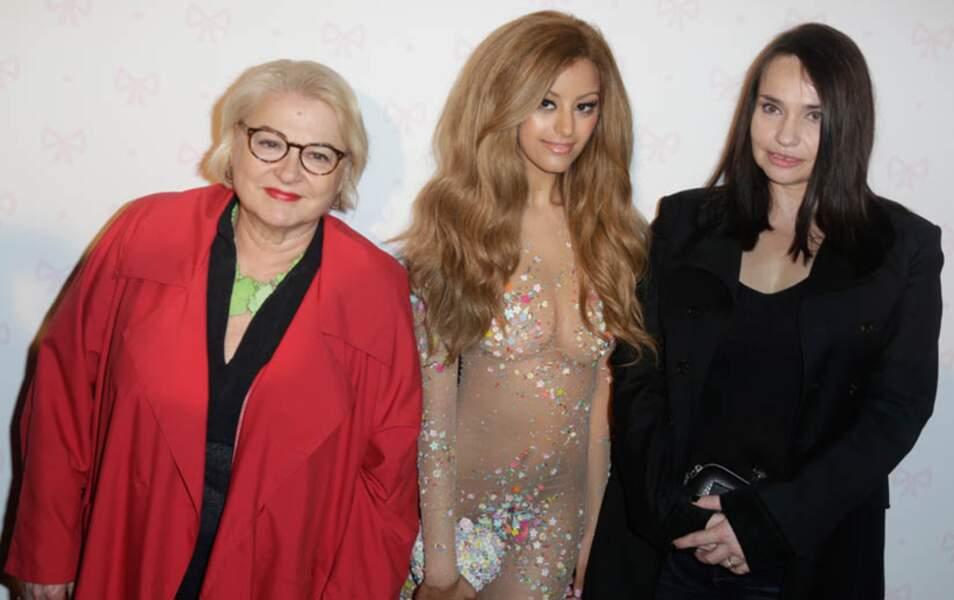 Josiane Balasko, Zahia et Béatrice Dalle