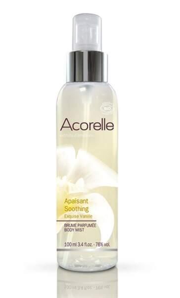 Brume parfumée Exquise Vanille, Acorelle, 9,90€