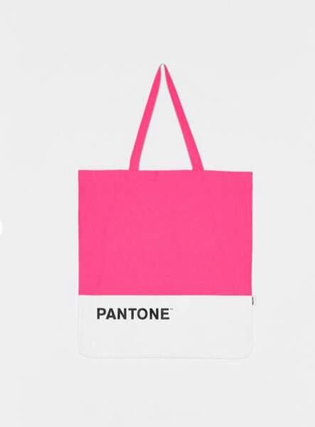 """Tote Bag """"Pantone"""", Bershka, 7,99€"""