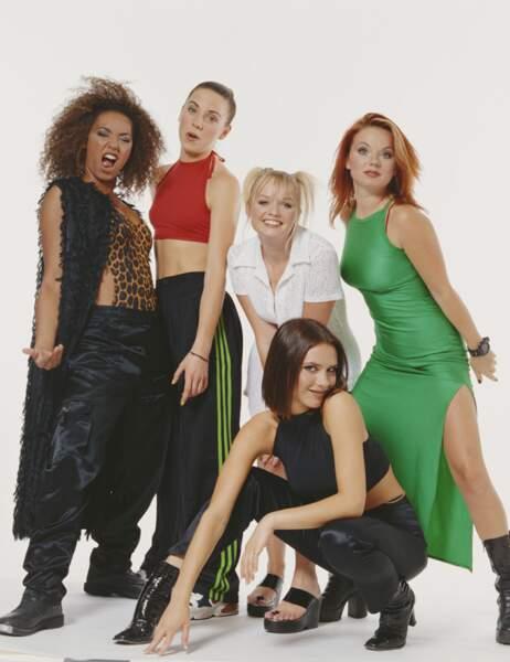 Les Spice Girls à leur apogée