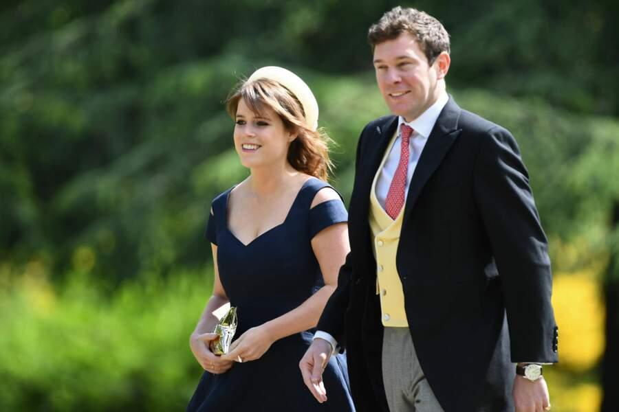 La princesse Eugenie d'York et son compagnon Jack Brooksbank