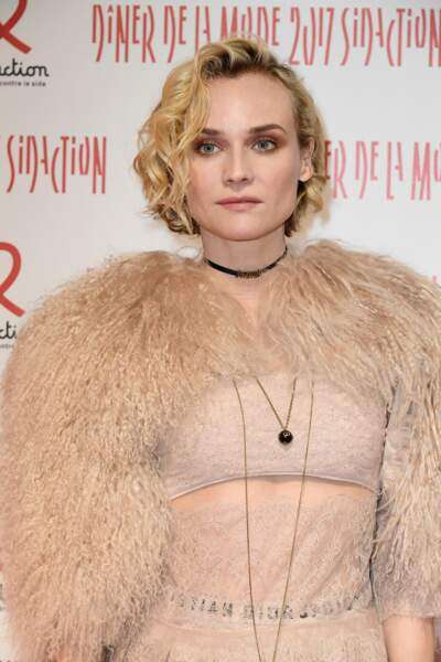 Dîner du Sidaction 2017 : Diane Kruger était jolie en crop top