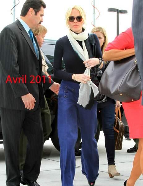 Lindsay Lohan avril 2011