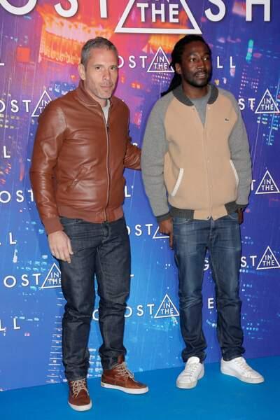 Avant-première de Ghost in the Shell : Medi Sadoun et Noom Diawara