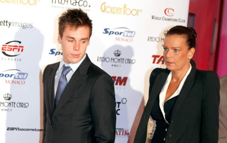 Louis Grimaldi et Stéphanie de Monaco