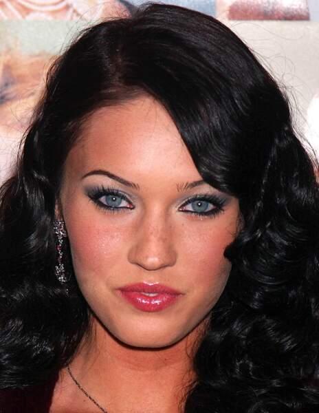 Avant / Après chirurgie esthétique, c'est réussi : Megan Fox avant