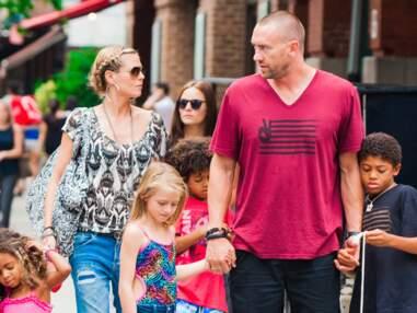 Heidi Klum en famille à New York