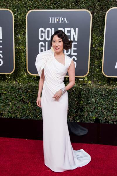 76ème cérémonie des Golden Globes : Sandra Oh