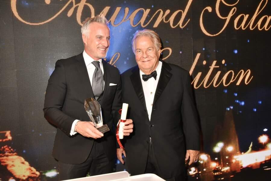 40ème Best Awards : David Ginola et Massimo Gargia