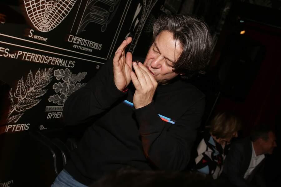 Thibault de Montalembert à la fête de fin de tournage de la saison 3 de Dix pour cent, le 25 avril à Paris