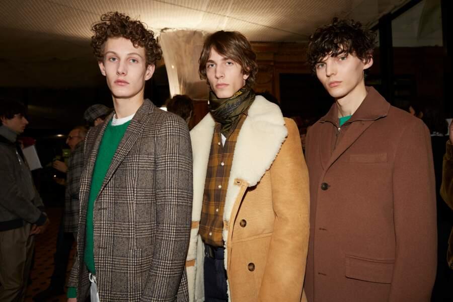 Fashion Week homme : les backstages du défilé Officine Générale