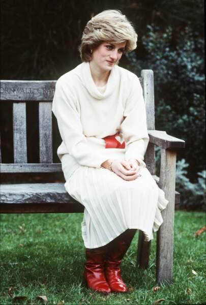 D'après les jardiniers, Lady Diana venait parfois seule s'y reposer