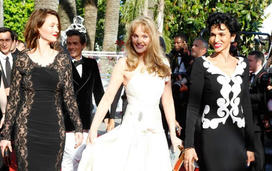 Audrey Marnay, Arielle Dombasle et Farida Khelfa