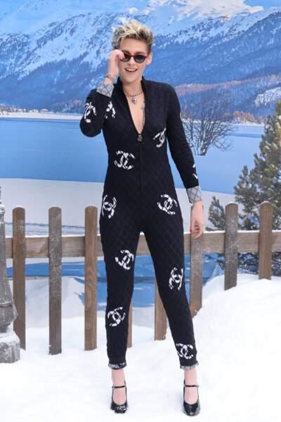 Kristen Stewart au défilé Chanel automne-hiver 2019-2020 pour un dernier hommage à Karl Lagerfeld