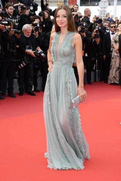 Cannes - Montée des Marches pour le 70ème anniversaire : Lara Lieto