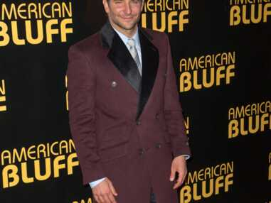 Bradley Cooper à Paris pour l'avant-première d'American Bluff
