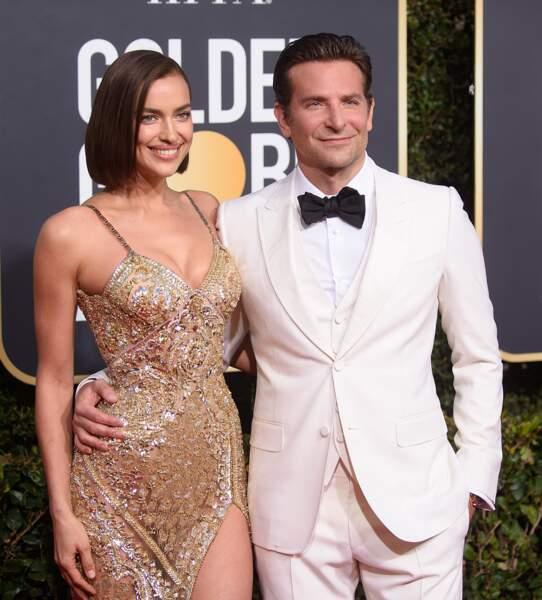 76ème cérémonie des Golden Globes : Irina Shayk et Bradley Cooper