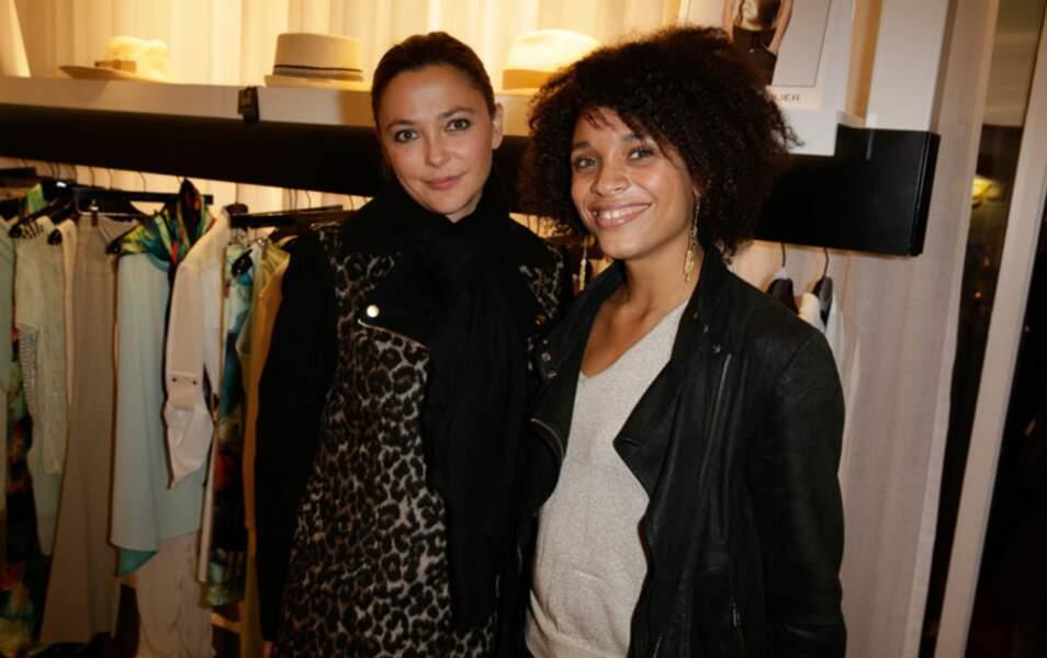 Sandrine Quétier et Stefi Celma