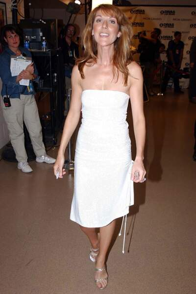 Céline Dion a 50 ans : ces 15 fois où elle était à la pointe de la mode (la robe blanche)