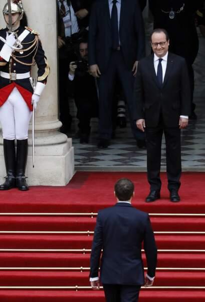 Emmanuel Macron rejoint François Hollande