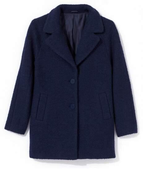 Manteau en laine, 175€, Somewhere