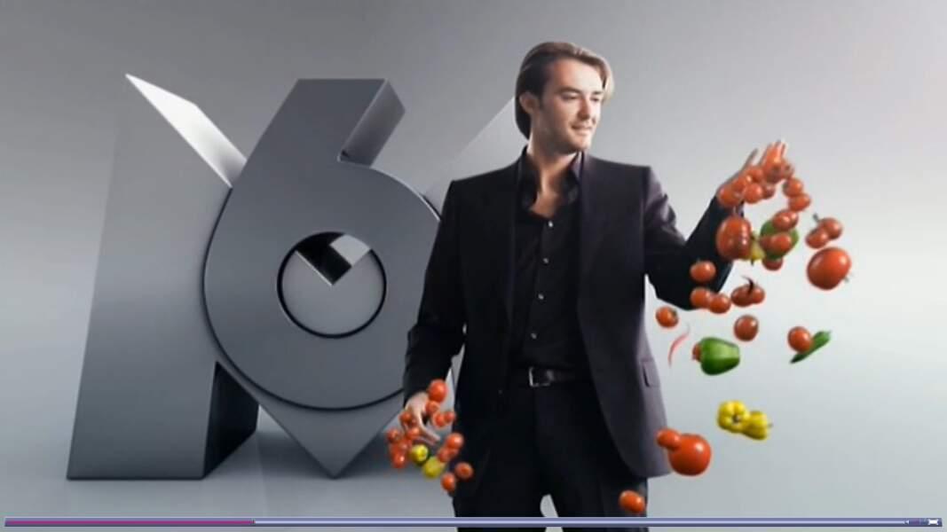 2010, il est l'un des animateurs phares de M6...
