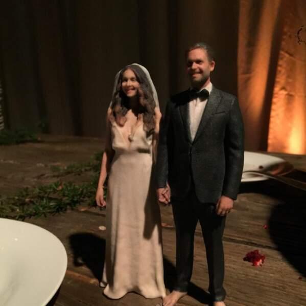 Mariage de Troian Bellisario : la star portait une jolie robe et un voile