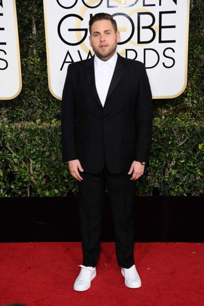 Golden Globes 2017 : Jonah Hill