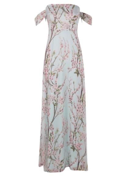 Boohoo Jessica floral off the shoulder maxi dress 38,00 euros