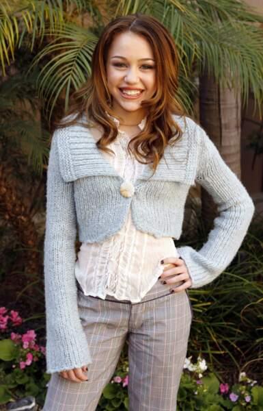 Miley Cyrus époque Hannah Montana