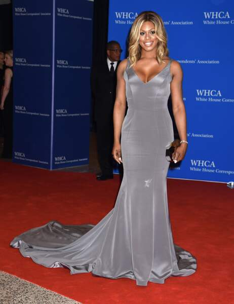 L'actrice de la série Orange Is the New Black, Laverne Cox