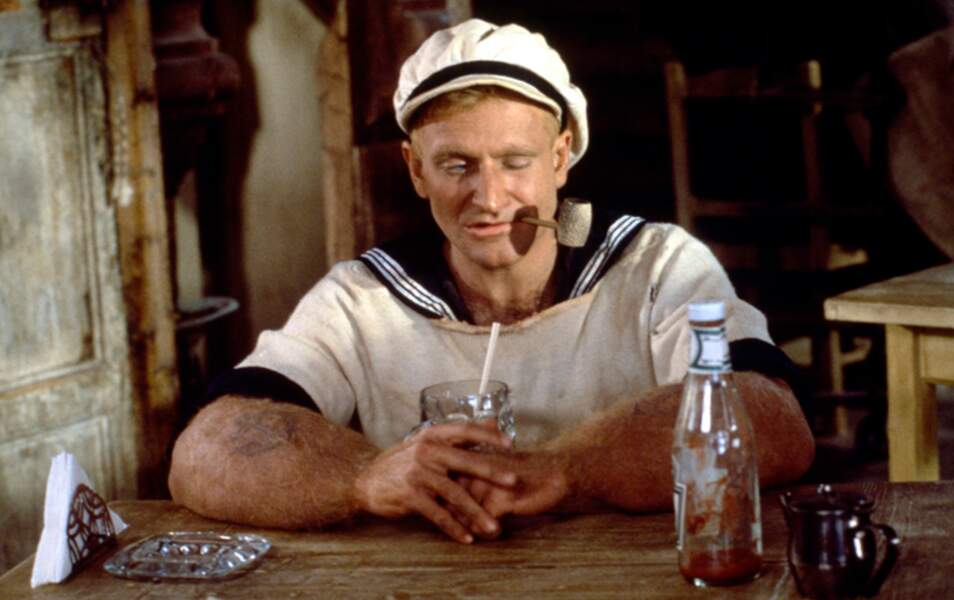 En 1980, en marin musclé dans Popeye de Robert Altman