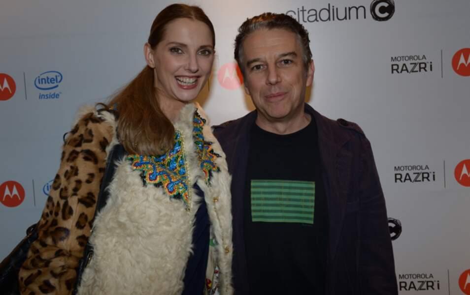 Frédérique Bel et Philippe Vandel
