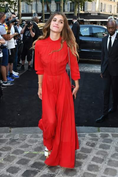 Dîner Vogue : Elisa Sednaoui
