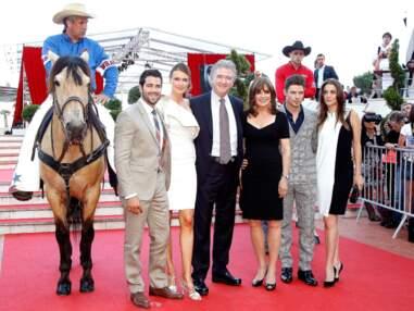 Adriana Karembeu et son compagnon à a soirée Dallas à Monte Carlo