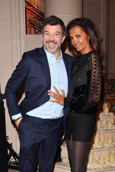 Stéphane Plaza et Karine Le Marchand aux Stéthos d'Or