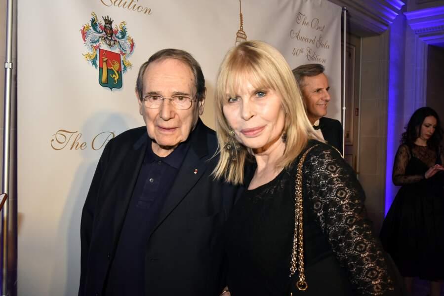 40ème Best Awards : Robert Hossein et sa femme Candice Patou